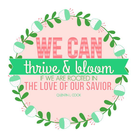 WE CAN THRIVE AND BLOOM