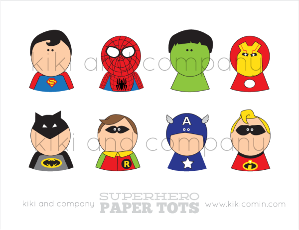 superhero-paper-tots