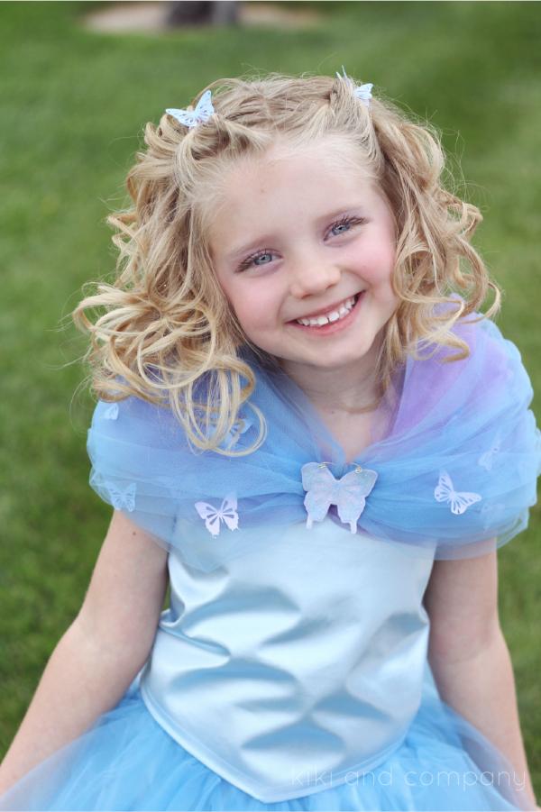 DIY Cinderella Ball Gown Dress Tutorial at kiki and company. Cute!