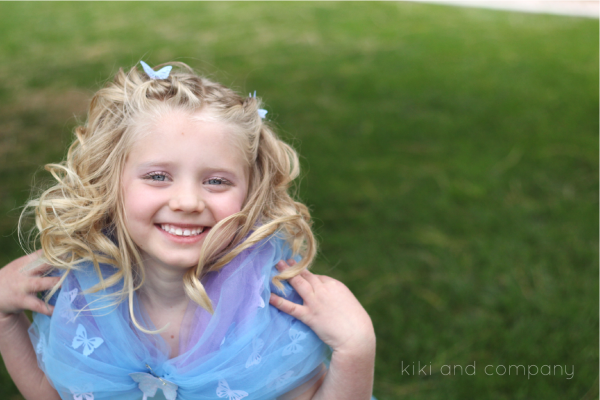 DIY Cinderella Ball Gown Dress Tutorial at kiki and company. So sweet!