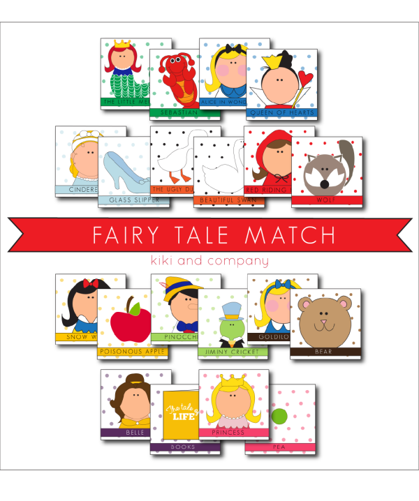 Fairy Tale Match from kiki and company.