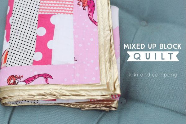 Mixed up Block Quilt at kiki and company