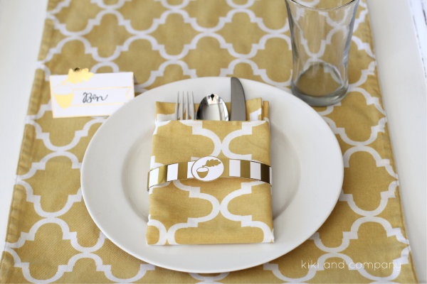 Free Printable Thanksgiving Dinner Printables at kiki and company.
