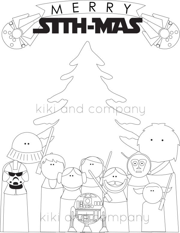 Christmas Coloring sithmas