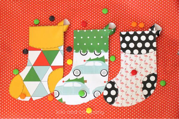 Christmas Stockings from kiki and company. Fun!