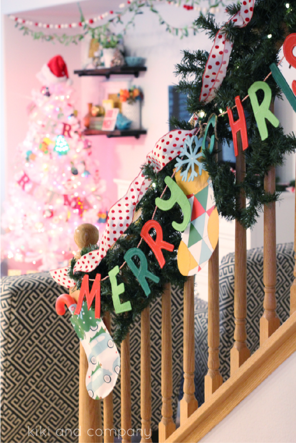 Christmas Stockings from kiki and company. So fun!