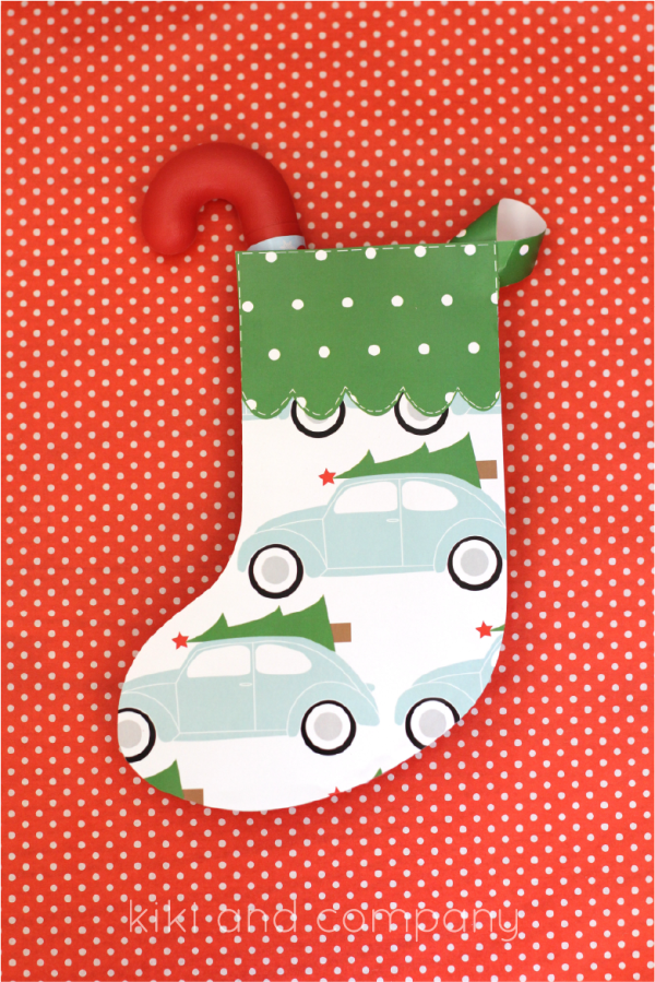 Christmas Stockings from kiki and company. Super Cute!