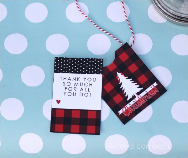 Christmas Tree Tags from kiki and company. Cute!