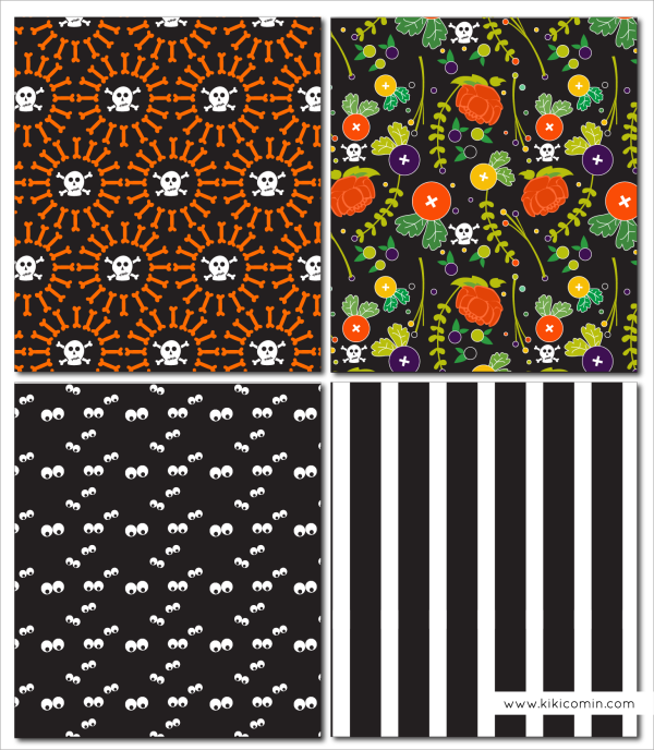 Halloween Patterns from kiki and company