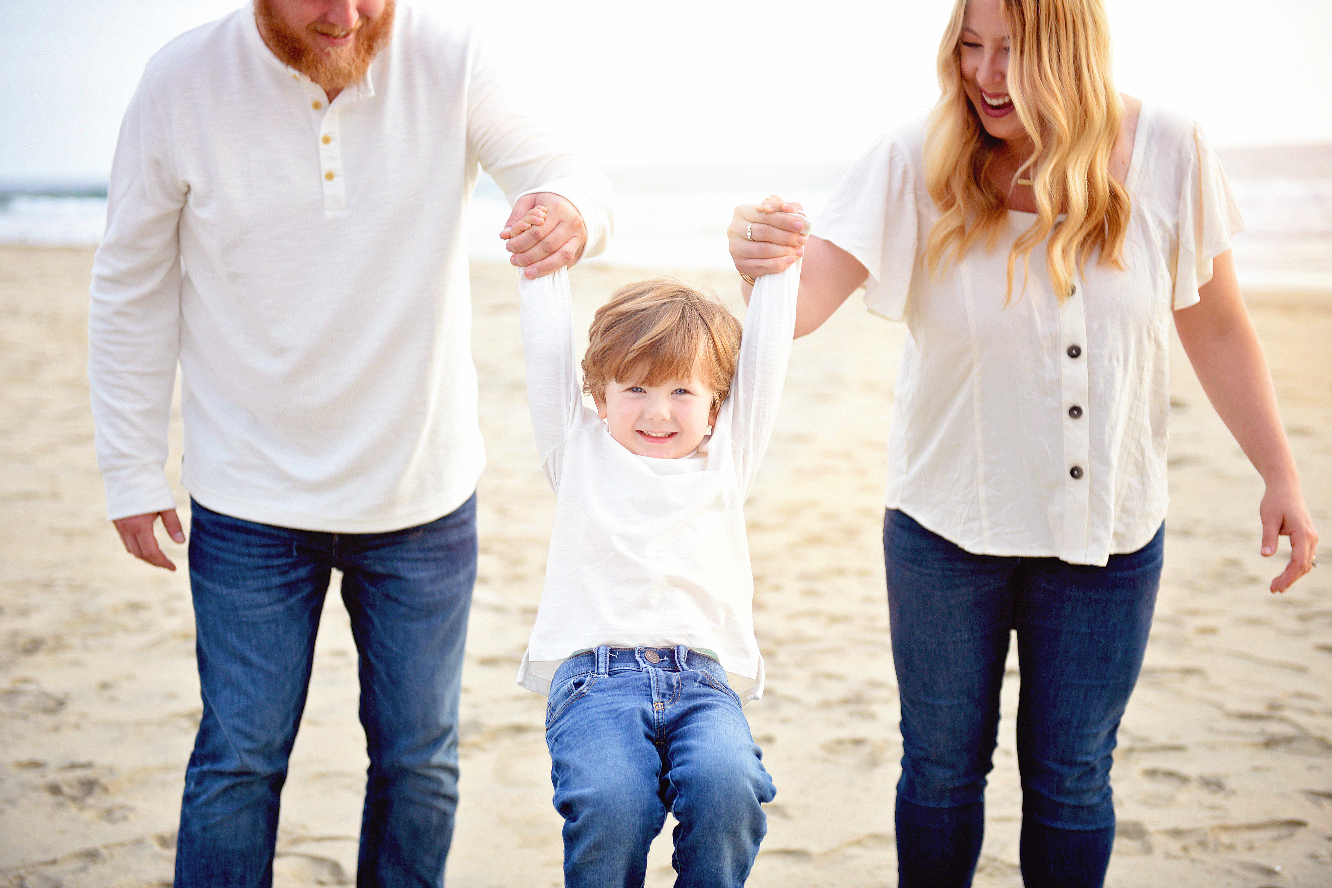 Family beach pictures