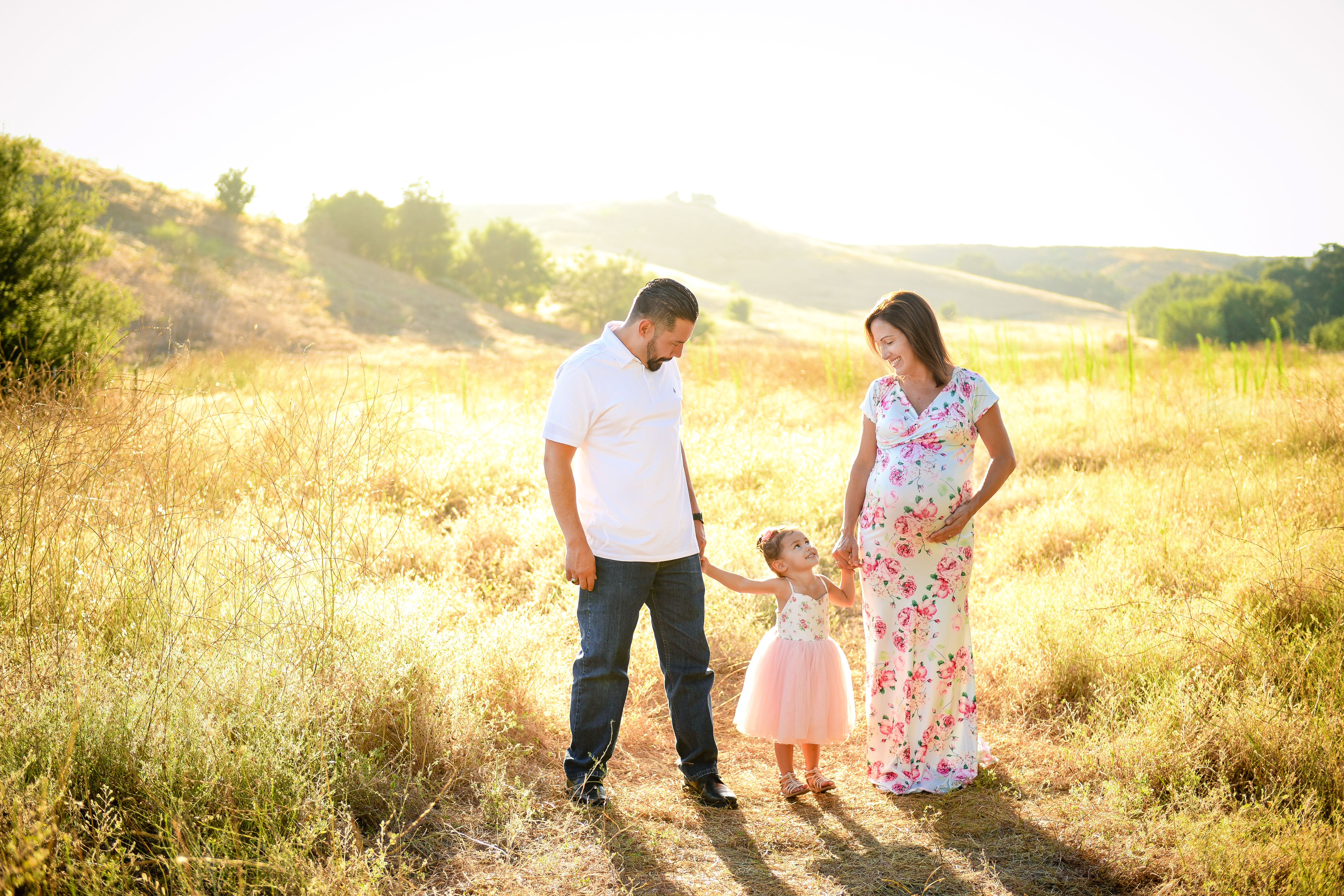 Family maternity pictures | maternity pictures | orange county maternity pictures