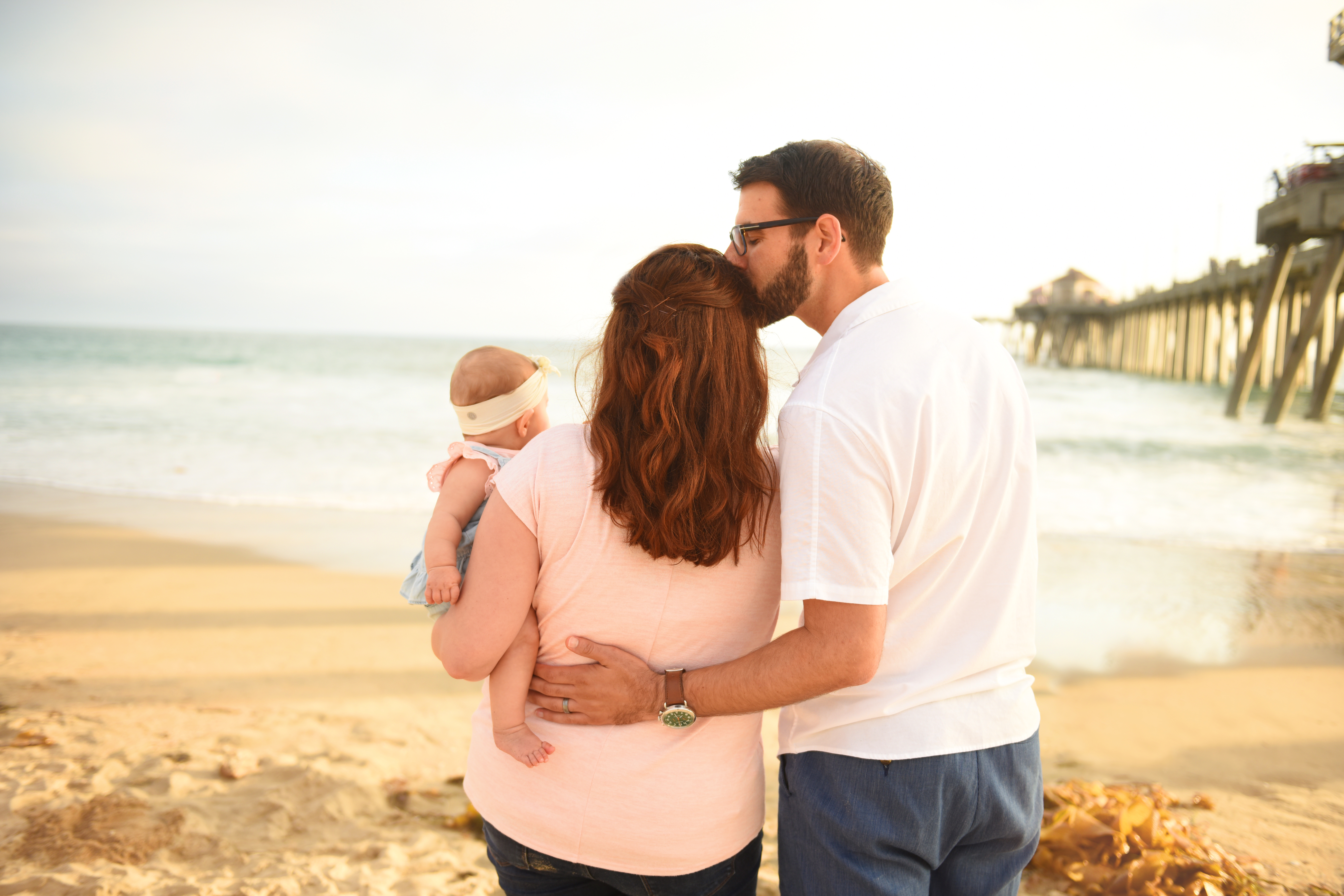 Orange county family beach pictures