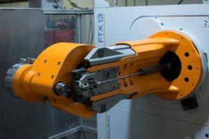 robotic arm wire form