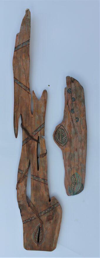 American Southwest - Pam Curtis - 38'' x 10'' - Acrylic on Wood
