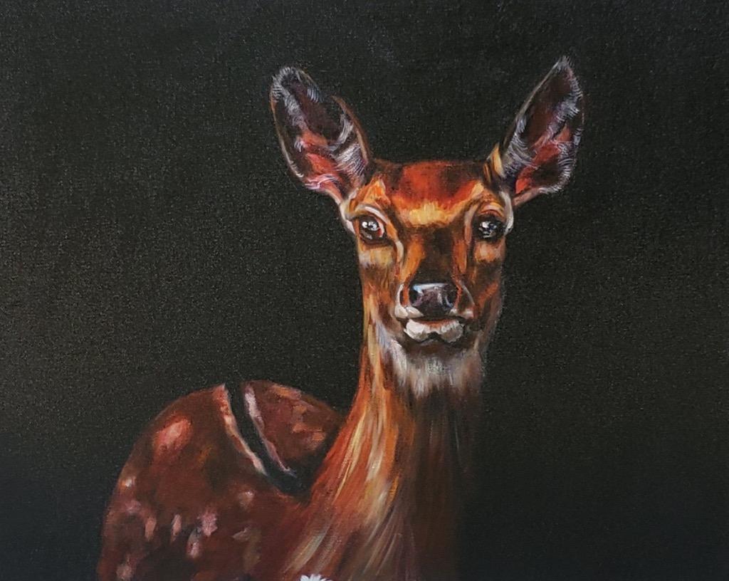 Natural Beauty - Lolli Hollsten - 16'' x 20'' - Acrylic on Canvas