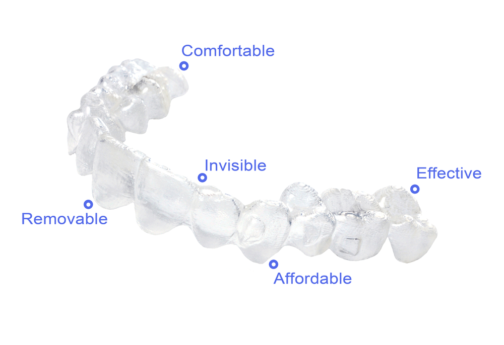 young man after invisalign teen