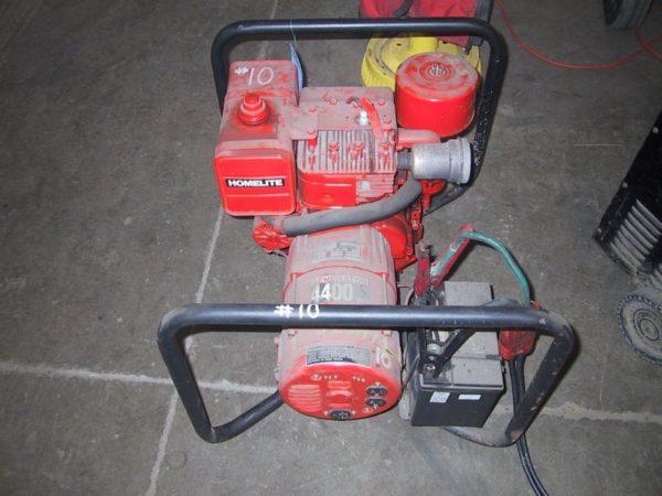 #6 – Homelite Generator