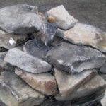 Flat Weather Field stone