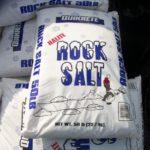 Rock salt - 50 lb. bags