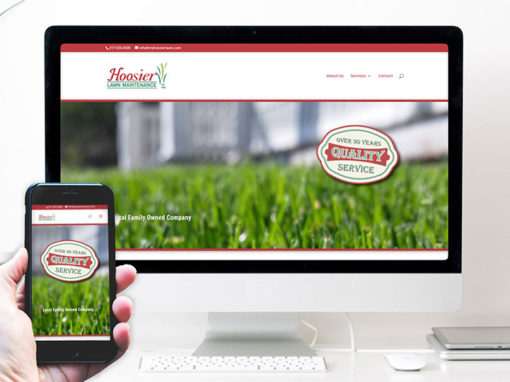 Hoosier Lawn Maintenance – website design