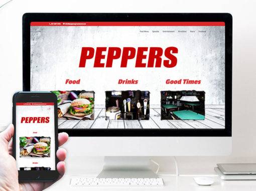 Peppers Greenwood – website design