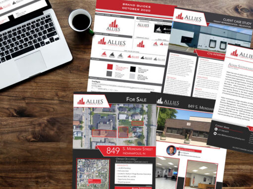 Allies Commercial Realty – brand and marketing materials