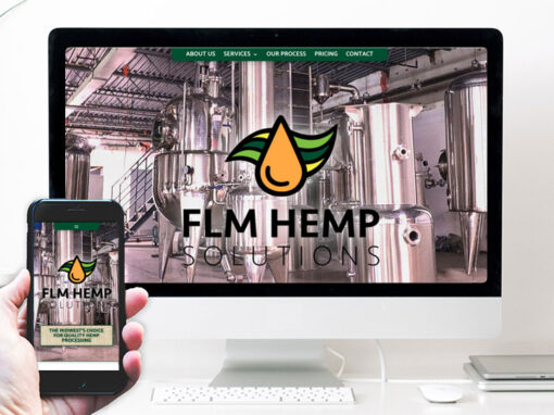 FLM Hemp – website design