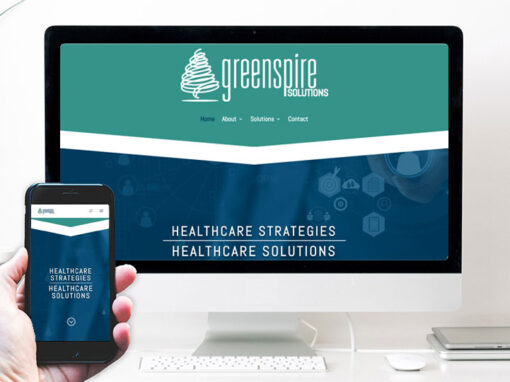 Greenspire Solutions – website design