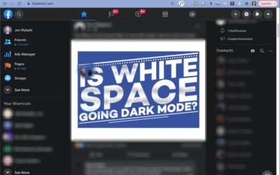 Is White Space Going Dark Mode?