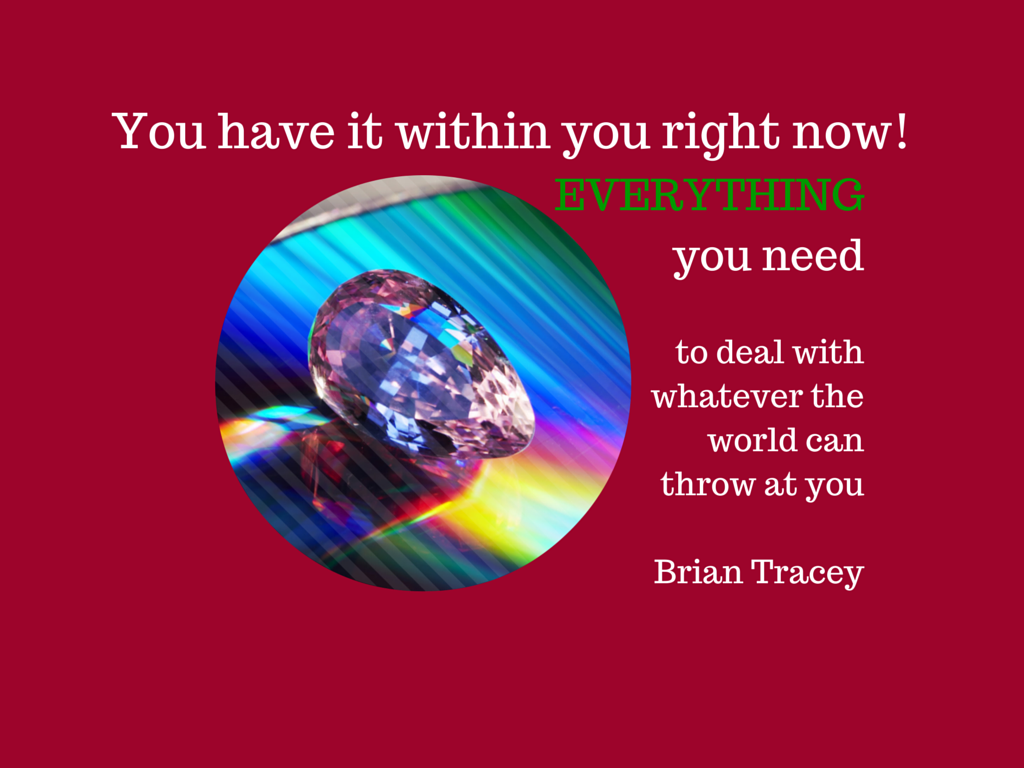 You have it within you right now