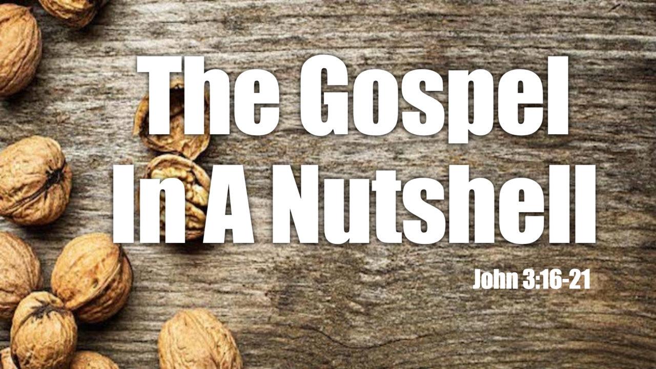 The Gospel In A Nutshell