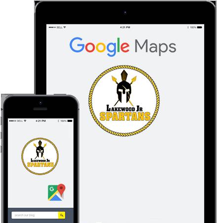 Map – Lakewood Jr. Spartans