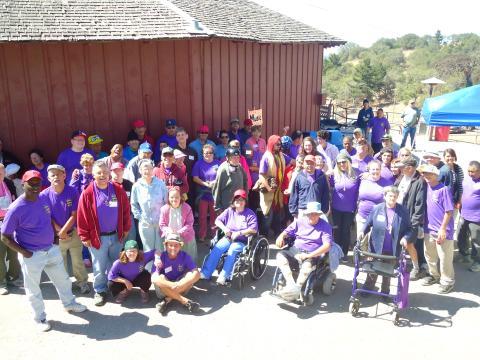 Camp Kelley Creek Staff 2012