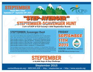 Steptember - Event 2 - Flyer