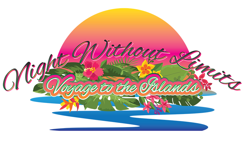 UCP Night Without Limits Logo - 2020 - A Voyage to the Islands