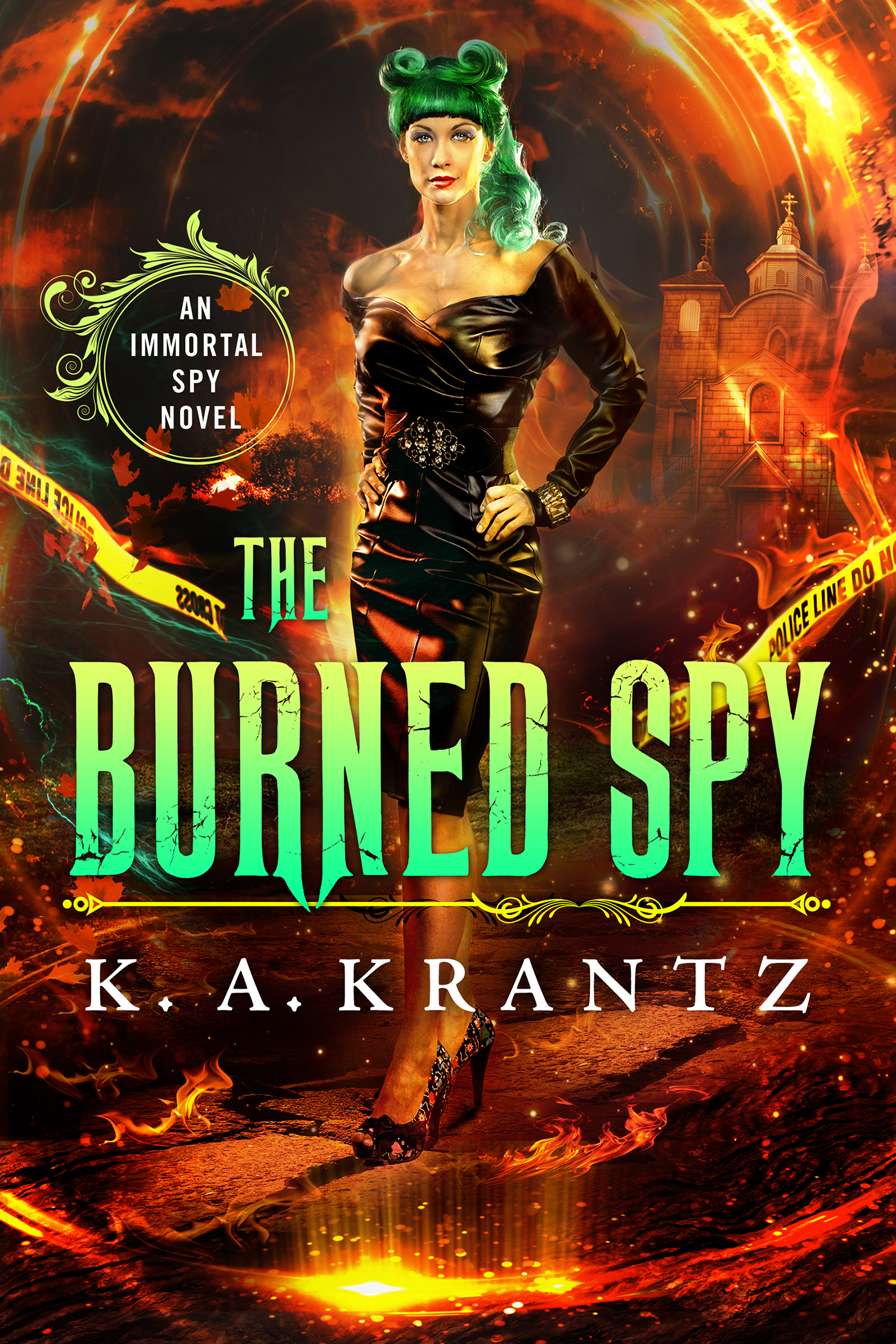 The Burned Spy Cover