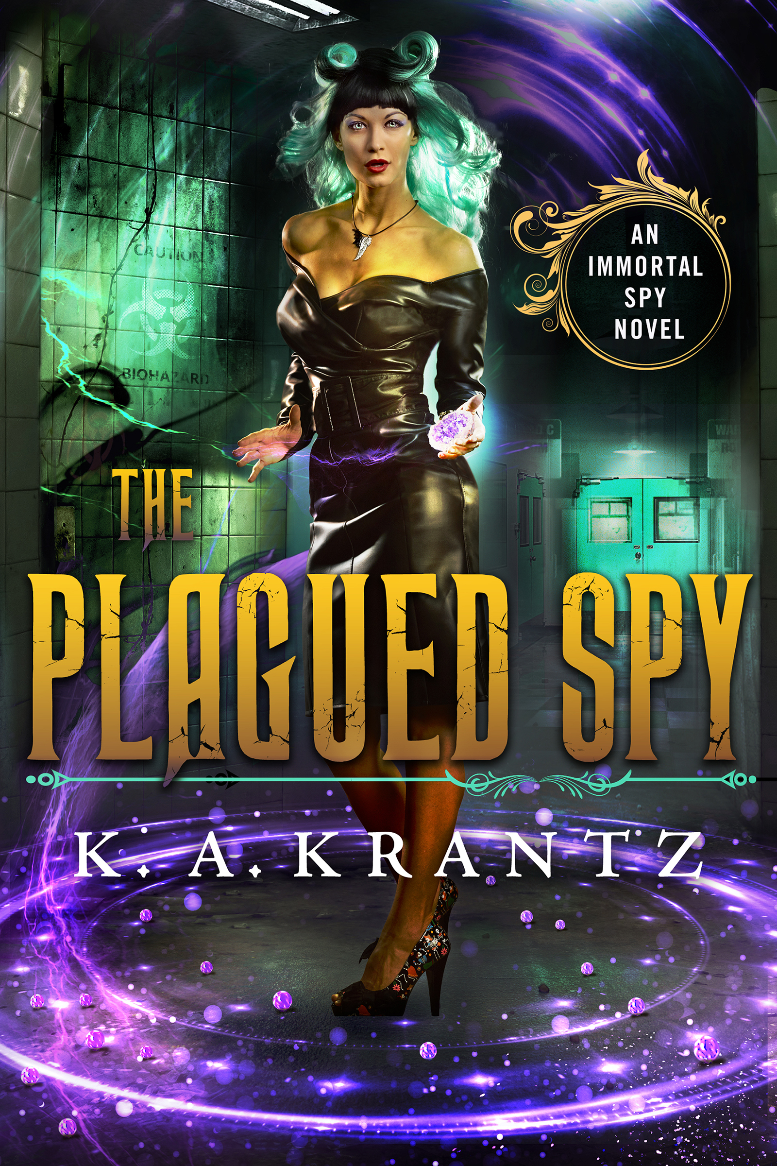The Plagued Spy Cover