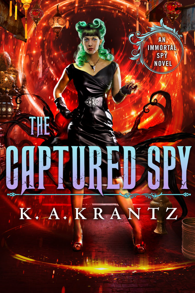 The Captured Spy Cover