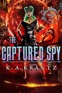 Book Cover: The Captured Spy