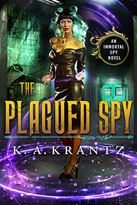 Book Cover: The Plagued Spy