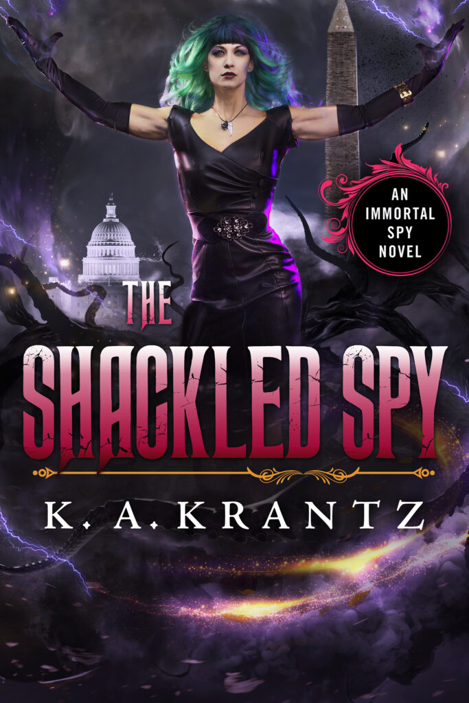 Cover Image for The Shackled Spy