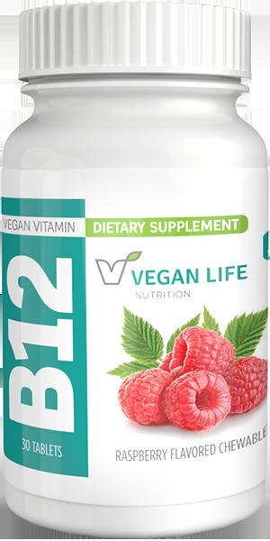 Chewable B12 Vitamins Bottle