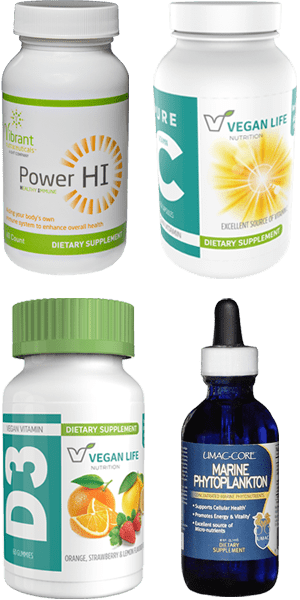 Immune System Pack A, 4 products in a grid