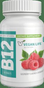 Chewable B12 Vitamins Bottle, 60 Tablets