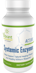 Active Systemic Enzymes bottle