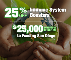 25 percent off Immune System Boosters