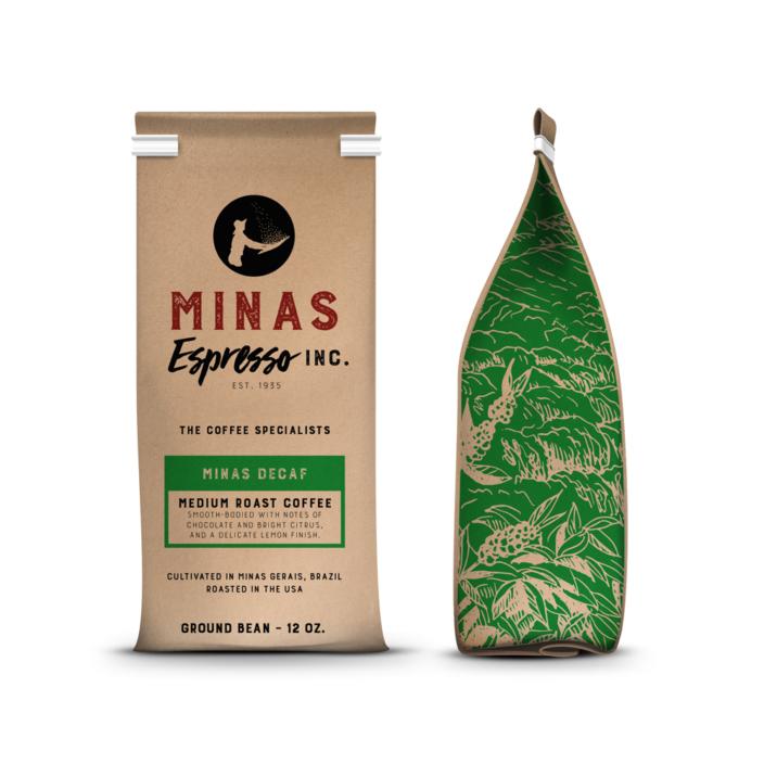 Minas Decaf Ground Bean-12 Ounce