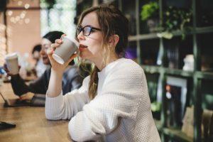 Minas Espresso Inc. - University student at coffee shop