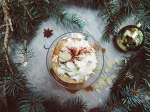 Flavored Egg Nog Mocha - Minas Espresso - 5 Winter Coffee Recipes You Can Make at Home