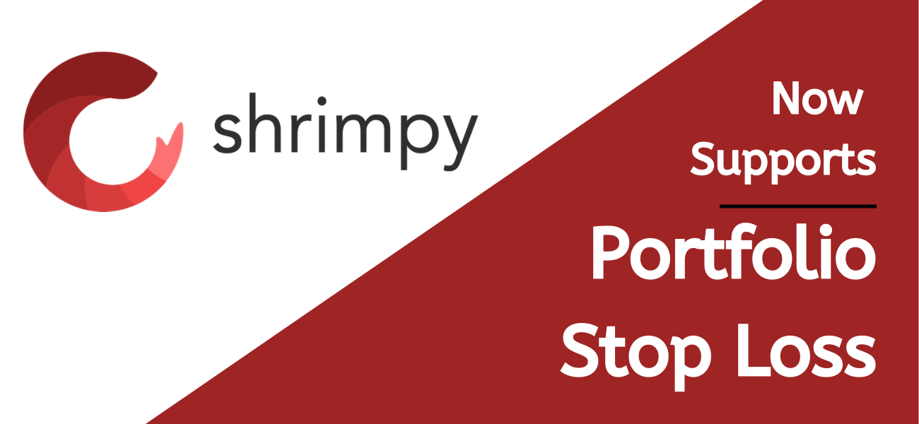 Shrimpy New Feature - portfolio Stop Loss